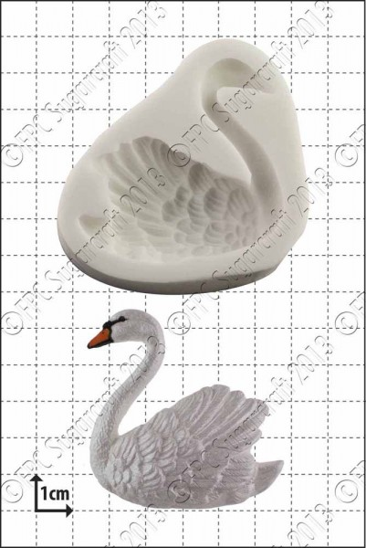 FPC - Sugarcraft Silikon Mould - Schwan Links