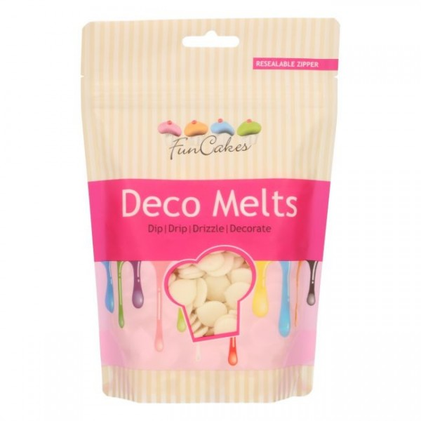 Funcakes Deco melts Weiss 250G