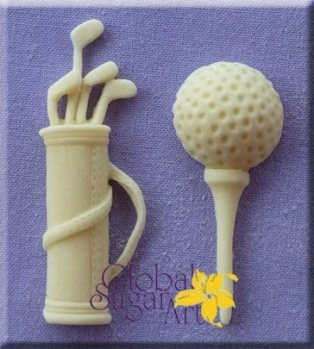 Alphabet Moulds - Silikonmould - Golf Set