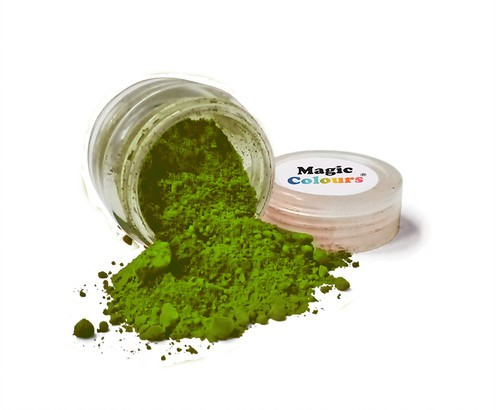Magic Colours - Edible Petal Dust Forest Green  7 ml
