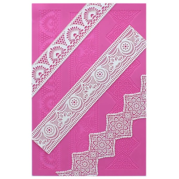 Art Deco Cake Lace Mat By Claire Bowman
