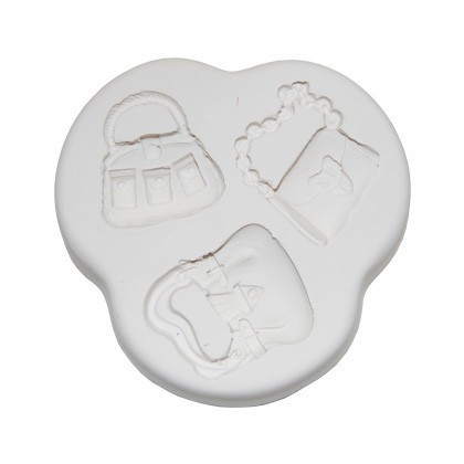 Squires Kitchen mould-Handbags (set 2) 3 Motiven