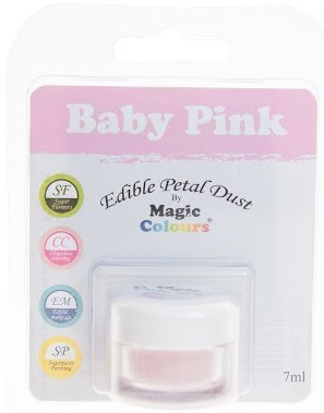Magic Colours, Edible Petal Dust - Baby Pink, 8 ml