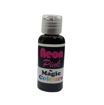 Magic Colours, Pastenfarbe - Neon-Pink, 32 g