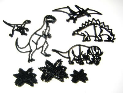 Patchwork Cutters - Dinosaurier Set - 8teilig