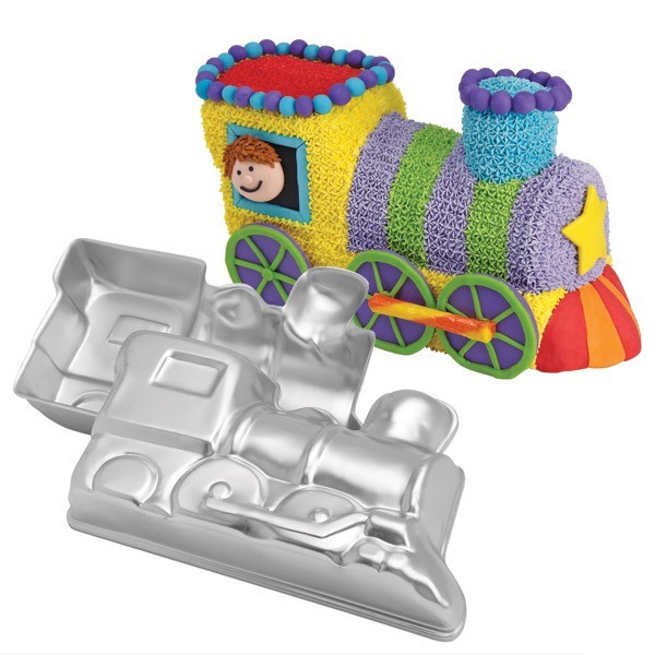 Wilton Backform - 3D Lokomotive - Choo-Choo Train Pan - 2teilig