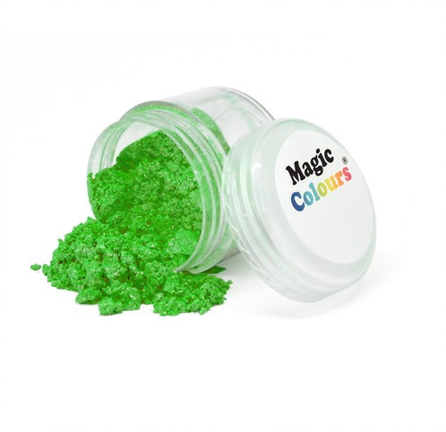 Magic Colours - Puderfarbe Glanz -  Grün - Garden Sparkle - 7 ml