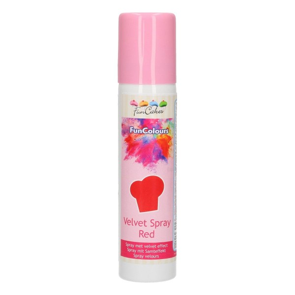 Funcakes - Velvet Spray Rot - 100 ml