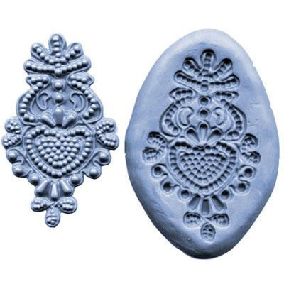 CK Products Silikonmould - Medaillon Mould - Bead Medallion Mould