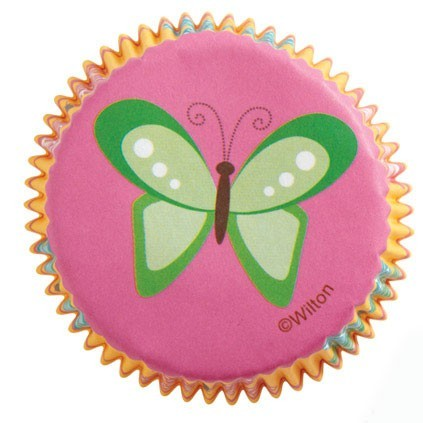 Wilton Papierbackform - Schmetterling - Baking Cups - Garden Party - Butterfly
