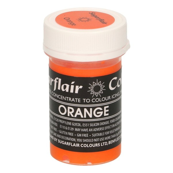 Sugarflair - Pastenfarbe - Pastel Orange - 25 g
