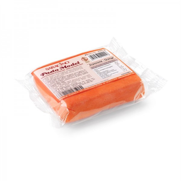 Saracino - Modellierpaste Orange  250 g
