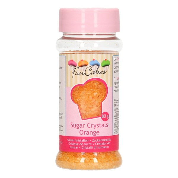 FunCakes - Bunter Zucker Orange 80g