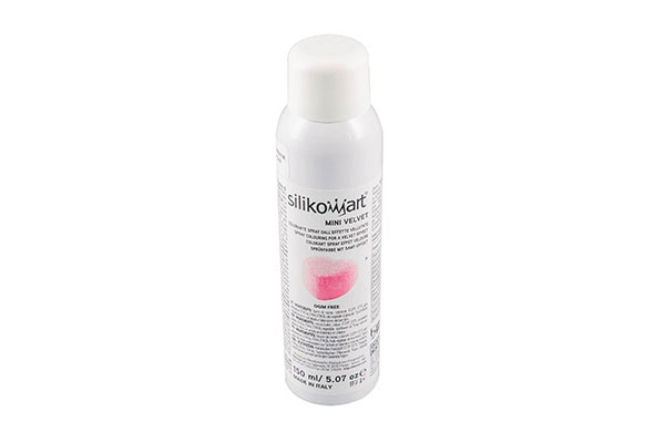 Silikomart - Velvet Spray Pink / Rosa - 150 ml - Mini