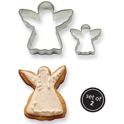 PME Ausstecher-Set - Engel - Cookie Cutter Set - Angel - 2 Stück