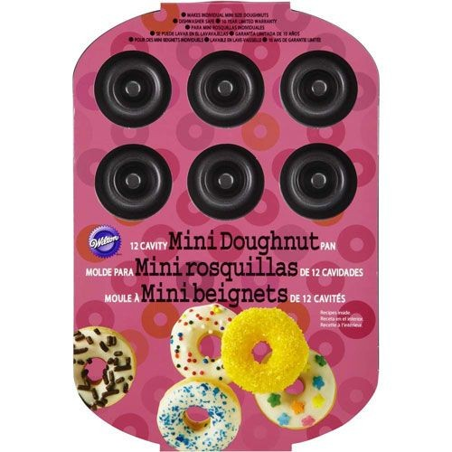 Wilton - Backform - 12 Mini Donuts