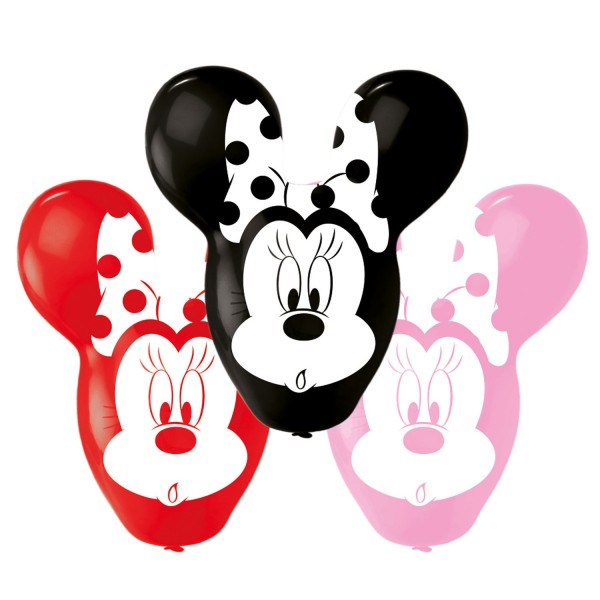 4 Latexballons Minnie Giant Ears 55,8cm/22""