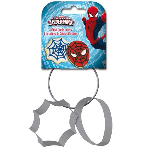 Stor Ausstecher Set - Spiderman - 2-teilig