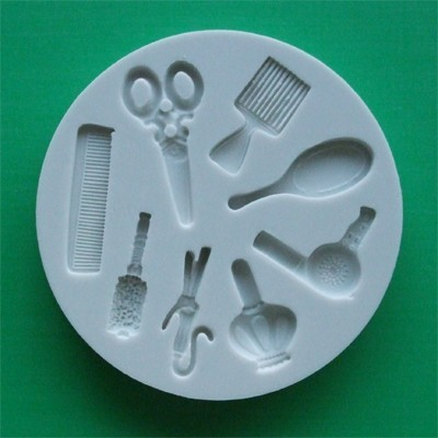 Alphabet Moulds Silikonmould - Friseurutensilien
