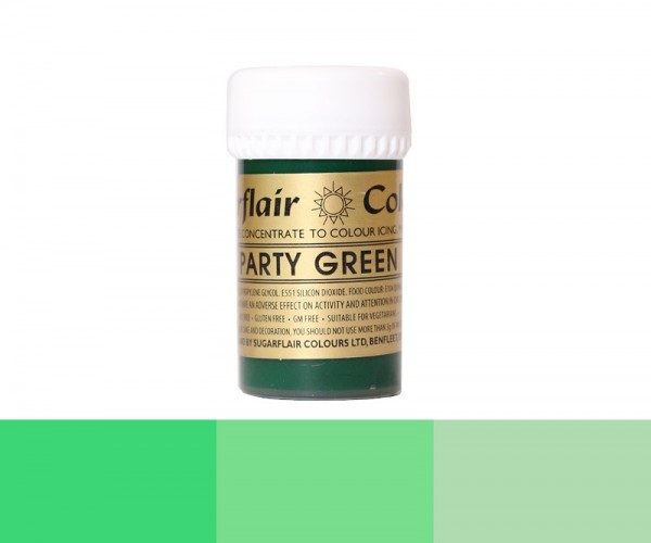 Sugarflair Pastenfarbe - Party Green - Grün - 25 g