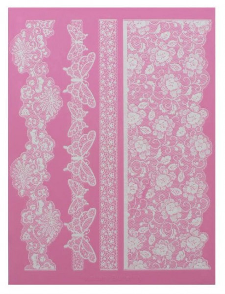 Madame Butterfly Große Matte Cake Lace Mat By Claire Bowman