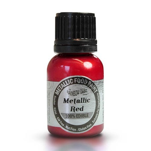 Rainbow Dust Metallic Farbe Red, 25 ml