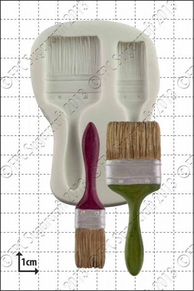 FPC - Sugarcraft Silikon Mould - Pinsel