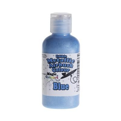 Magic Colours - Metallic Airbrush Farbe - Indigo Blue - Blau - 55 ml