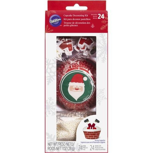 Wilton Cupcake Decorating Kit -Weihnachtsmann-