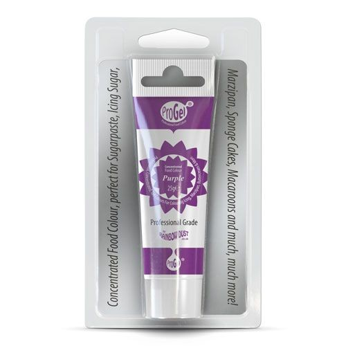 RD - ProGel ® Lebensmittelfarbe Lila Purple - 25 g