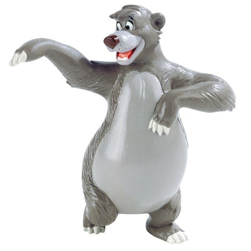 Disney Figur - Balu der Bär - Dschungelbuch -  8 cm - Jungle Book - Baloo