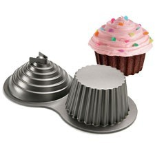 Wilton - Backform - 3 D - Riesigen Cupcake - Muffin