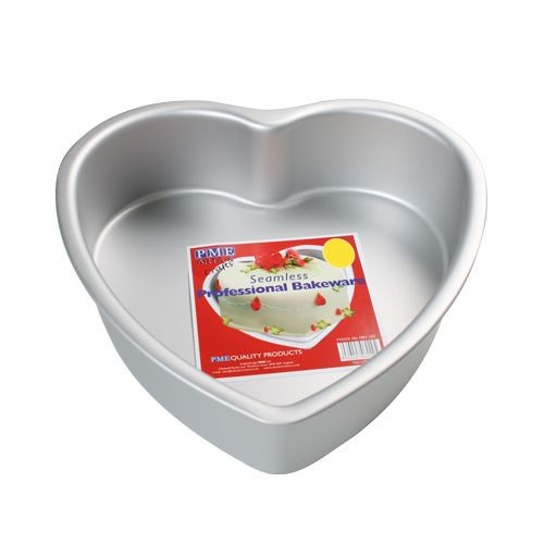 PME Backform - Herz - Baking Pan - Deep Heart Cake Pan - 25 x 7,5 cm