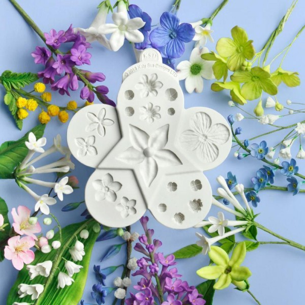 Flower Pro Ultimate Filler Flowers Silicone Mould
