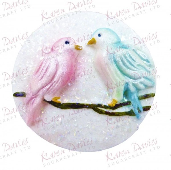 Love Birds Cupcake Mould