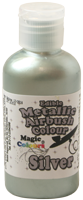 Magic Colours - Metallic Airbrush Farbe - Silber - Silver - 55 ml