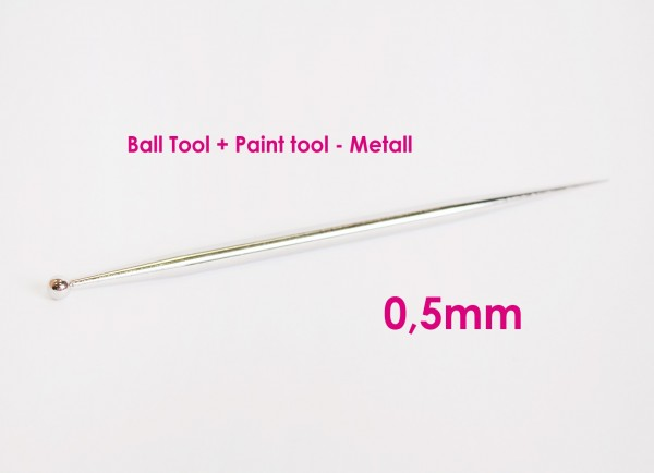 Ball Tool + Paint tool - Metall - 0,5mm
