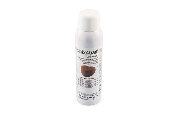 Silikomart - Velvet Spray Braun - 150 ml - Mini