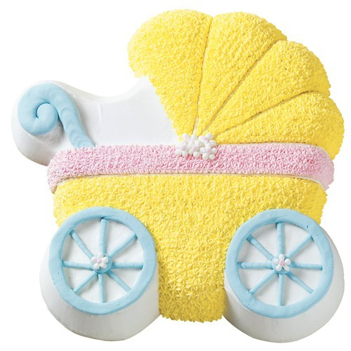 Wilton Backform - Kinderwagen - Baby Buggy Pan