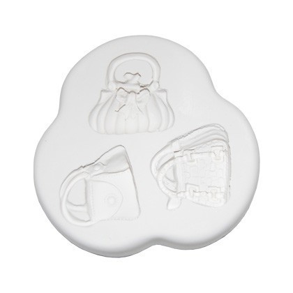 Squires kitchen mould-Handbags( set1) 3 motiven