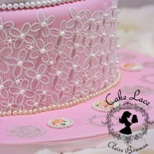 Claire Bowman - Cake Lace Victoriana  Large Mat