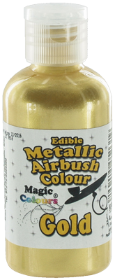 Magic Colours - Metallic Airbrush Farbe - Gold - 55 ml