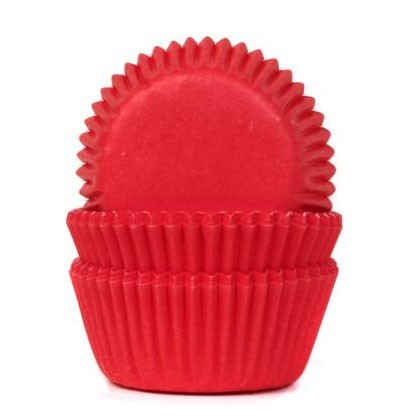 HOM Mini Baking Cups Red Velvet