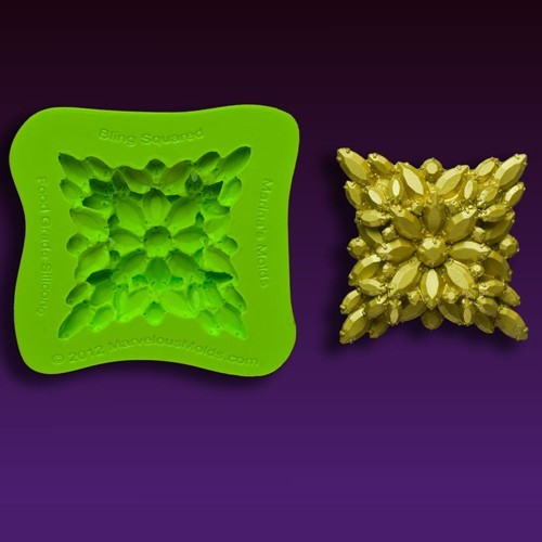 Marvelous Molds Bling Squared