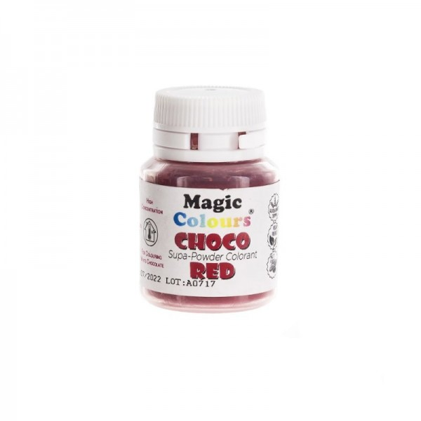 Magic Colours - Schokoladenfarbe - Pulver - Rot 5 g
