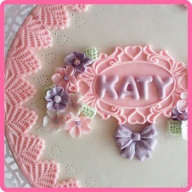 Katy Sue - Silikon Mould - Rectangle Hearts