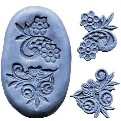 CK Products Silikonmould - Blumen Ornament Mould 2