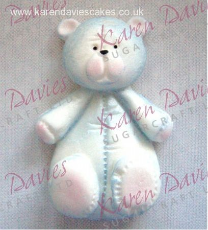 Karen Davies - Mould Teddy- klein