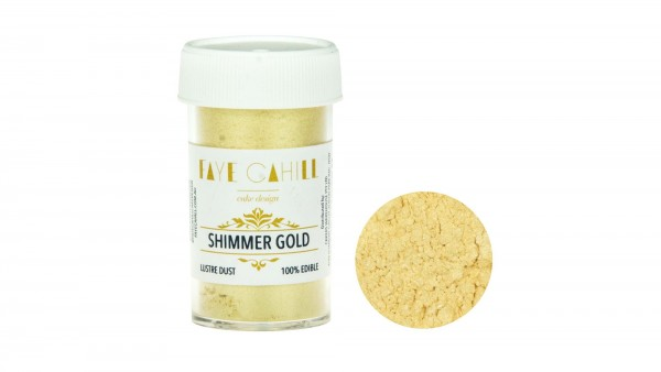 Faye Cahil - Puderfarbe Glanz - Shimmer Gold - 6g