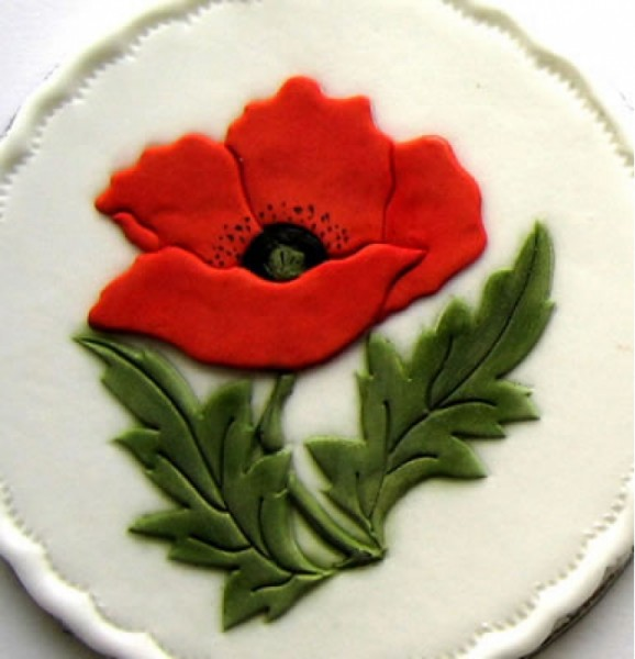 Patchwork Cutters - Poppy - Mohnblume
